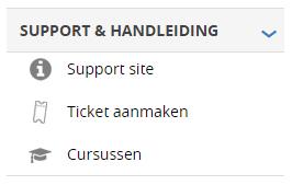 support & handleiding